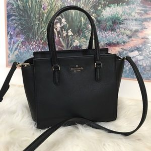 Kate spade black Jackson MD Satchel